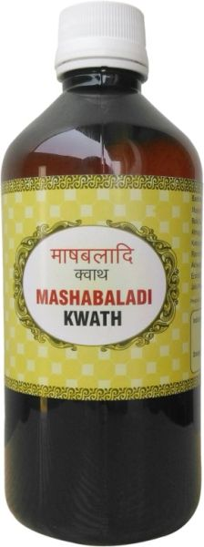 Mashabaladi Kwath (Pack of 5 Bottles 400 ml each)