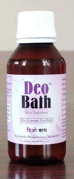 Deo Bath Skin Sanitiser(100ml X 4 bottles)