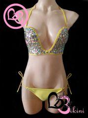 Glamour Halter Bikini in Sunshine