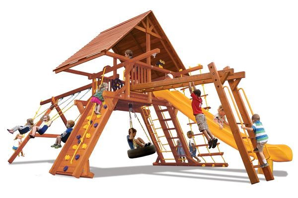 Supreme Playcenter Combo 3 w/ Wood Roof