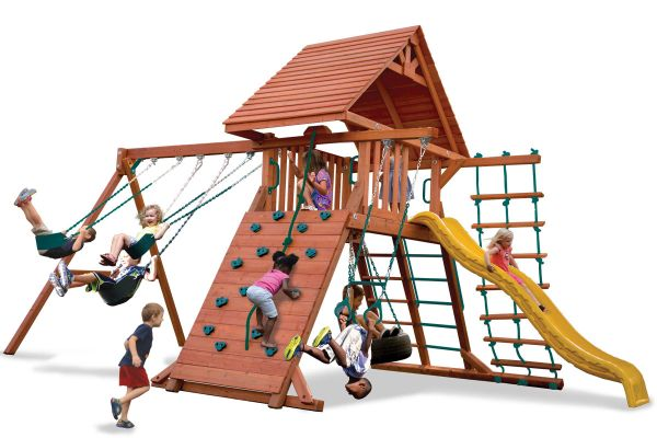 Original Playcenter with Wood Roof