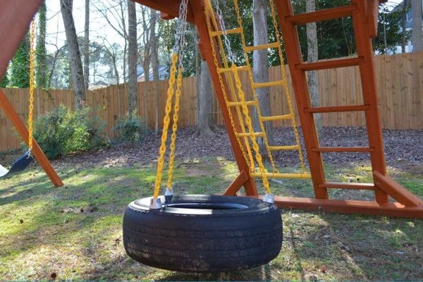 3- Chain Tire Swing