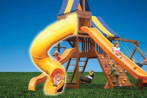Super Ride Spiral Slide