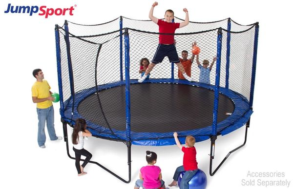 JumpSport StagedBounce Trampoline System 12'