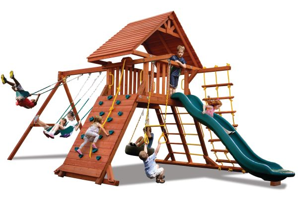 Turbo Original Playcenter Combo 2 w/ Wood Roof