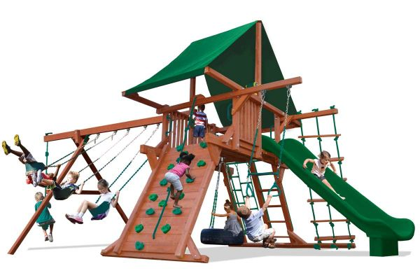 Turbo Deluxe Playcenter Combo 2 in Green