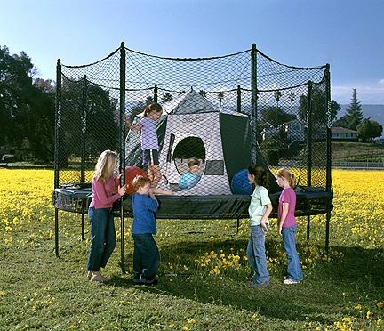 AlleyOOP Outback Trampoline Tent