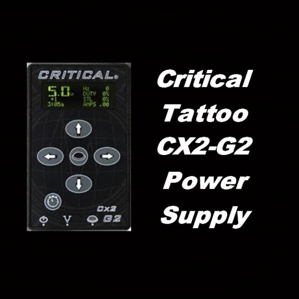 Critical Tattoo CX2-G2 Power Supply