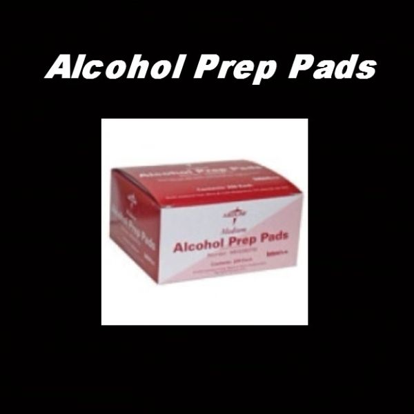 Alcohol Prep Pads 200 Count Sterile
