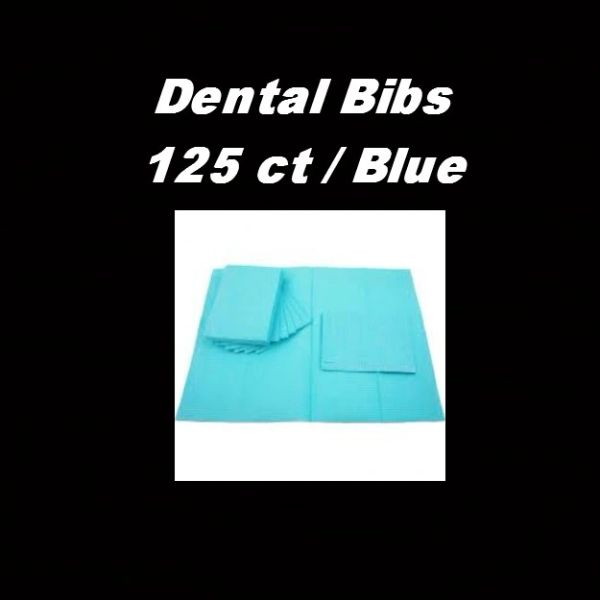 Dental Bibs -125 Count