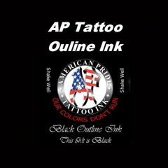 AP Black Outlining Ink