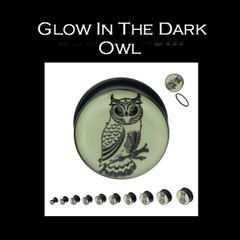 Glow In The Dark Owl Plug