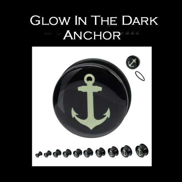 Glow In The Dark Anchor Plug
