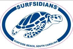 Blue, No Zip Code, Sea Turtle, Surfsidians