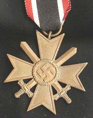 WW II GERMAN WAR MERIT CROSS 2ND CLASS WITH SWORDS