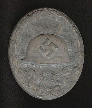 WW II NAZI GERMAN SILVER WOUND BADGE