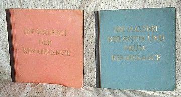 PRE WW II GERMAN RENAISSANCE ART CIGARETTE BOOKS