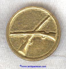 US ARMY ENLISTED INFANTRY COLLAR DISK - 1920-1930's