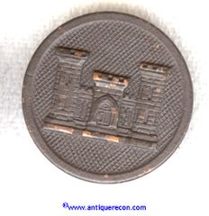 WW I US ARMY ENLISTED ENGINEER COLLAR DISK