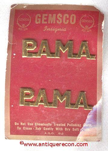 GEMSCO P.A.M.A. COLLAR BRASS