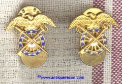 WW II US ARMY QUARTERMASTER CORPS OFFICER INSIGNIA