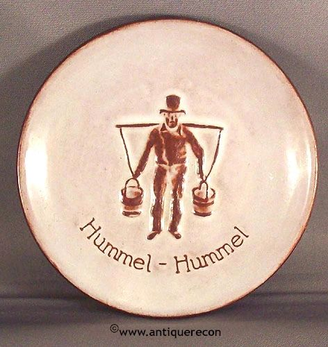 HUMMEL ADVERTISING DISPLAY PLATE