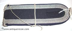 WW II GERMAN LUFTWAFFE MEDICAL NCO SEW IN SHOULDER BOARDS - MINT