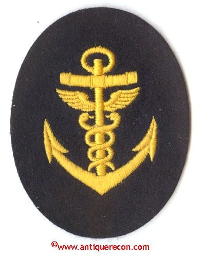 WW II GERMAN NAVY ADMINISTRATION PETTY OFFICER INSIGNIA