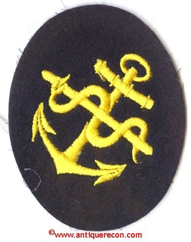 WW II GERMAN NAVY SICK BERTH PETTY OFFICER INSIGNIA