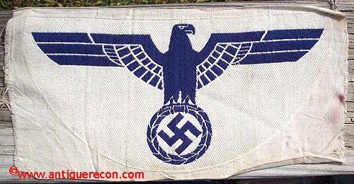 WW II GERMAN NAVY SPORTS EAGLE