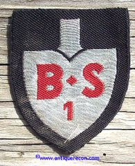 WW II GERMAN RAD STAFF PERSONNEL AT SCHOOL OFFICER ARM PATCH