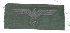 WW II GERMAN BREAST EAGLE - BEVO WEAVE
