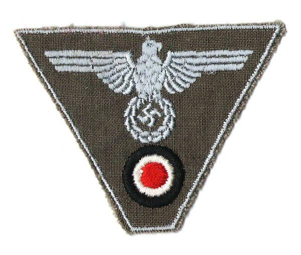 WW II GERMAN CAP EAGLE TRAPEZOID