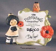 POPPYSEED COLLECTION FROM ENESCO BY SARGENT DISPLAY SIGN