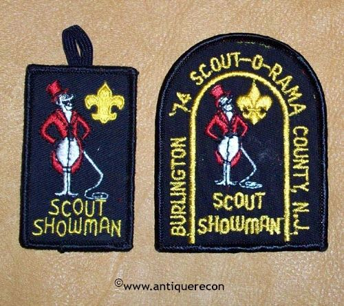 BOY SCOUT 1974 SCOUT-O-RAMA BURLINGTON COUNTY NEW JERSEY PATCH