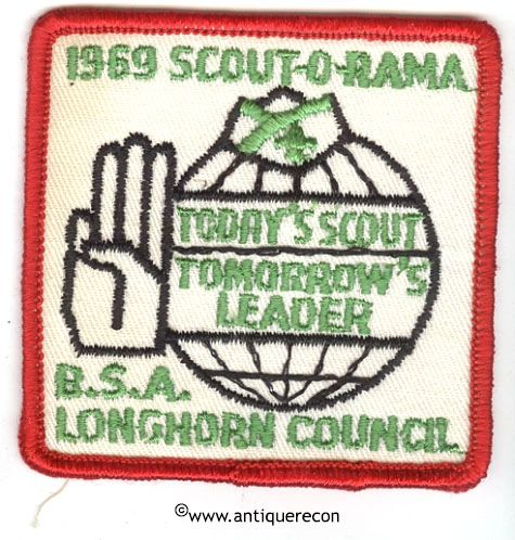 BSA 1969 SCOUT-O-RAMA LONGHORN COUNCIL PATCH