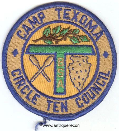 BSA CIRCLE TEN COUNCIL CAMP TEXOMA PATCH