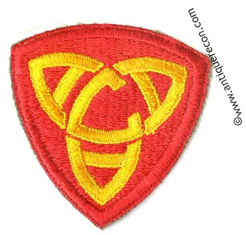 US ARMY ANTI-AIRCRAFT COMMAND CENTRAL PATCH