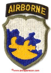 WW II US ARMY 18th AIRBORNE DIVISION PATCH - PHANTOM DIVISION
