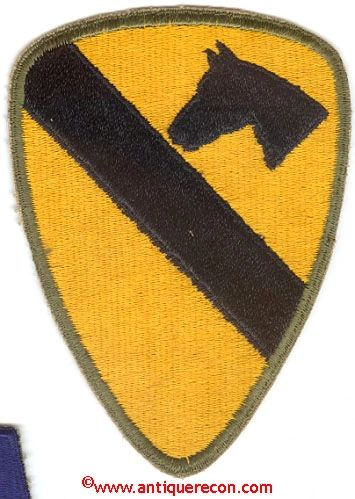 WW II US ARMY 1st CAVALRY DIVISION PATCH