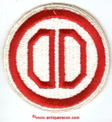 WW II US ARMY 31st INFANTRY DIVISION PATCH