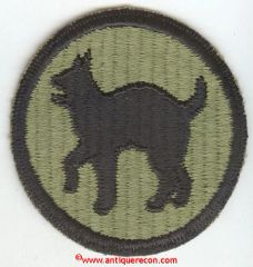 WW II US ARMY 81st INFANTRY DIVISION PATCH