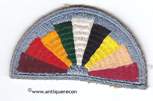 WW II US ARMY HOSTESS AND LIBRARIAN PATCH
