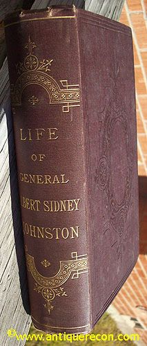 LIFE OF GENERAL ALBERT SYDNEY JOHNSTON - JOHNSTON