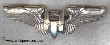 WW II US AAC AERIAL GUNNER WING - ORBIS