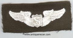WW II US ARMY SERVICE PILOT WING - GABARDINE