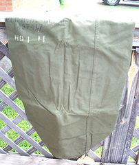 USMC CANVAS DUFFLE BAG - NAMED
