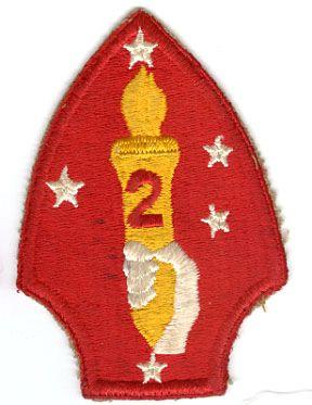 USMC 2nd MARINE DIVISION PATCH