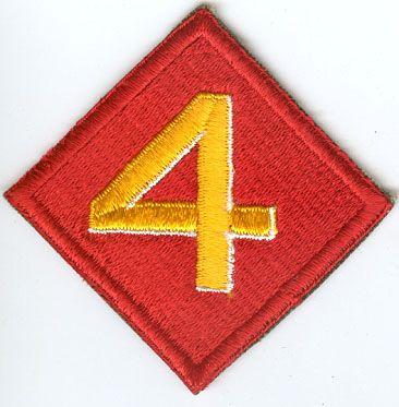 USMC 4th MARINE DIVISION PATCH