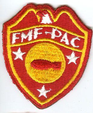 USMC FLEET MARINE FORCE PACIFIC BOMB DISPOSAL COMPANY PATCH